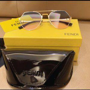 Fendi Sunglasses Gold YS027